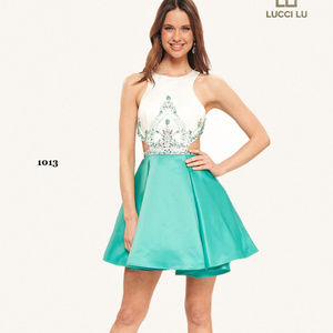 NWT Short Prom Dress Lucci Lu style 1013